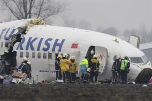 Vliegramp Schiphol Turkish Airlines