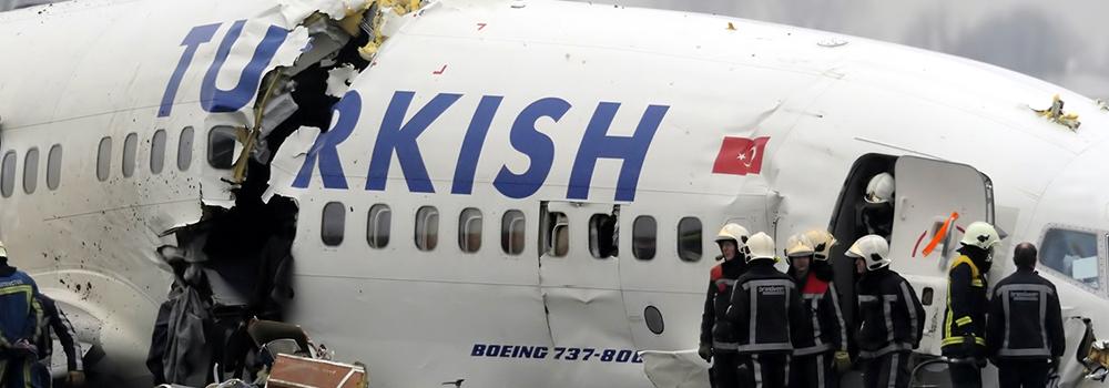 Vliegramp turkish airlines schiphol